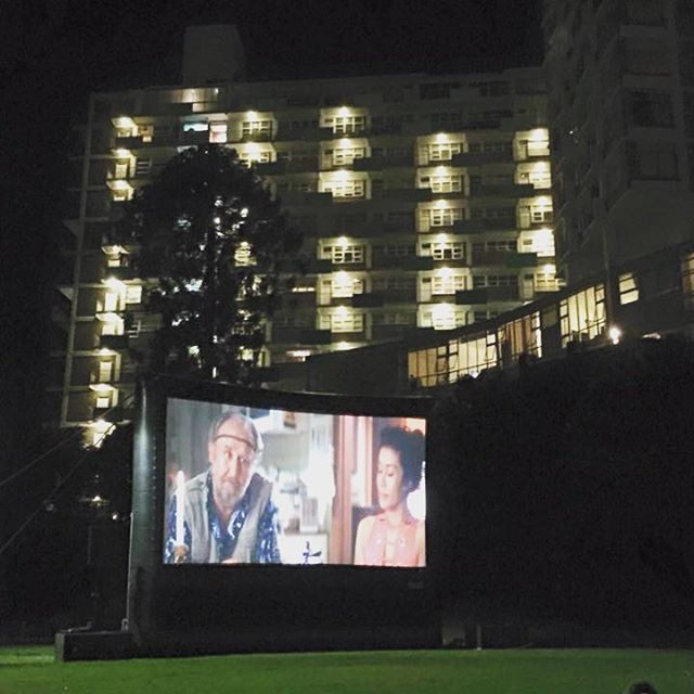 Priscilla Queen of the Desert was on last night at the Beare Park Cinema. #kingscrossfestival