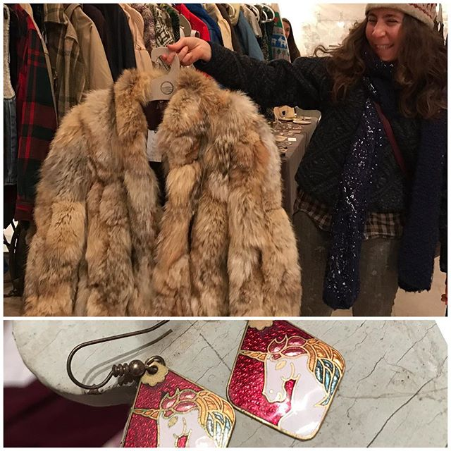 How this fur and those earring have not sold is beyond us. Contact @greatestfriend if you desire these genius items