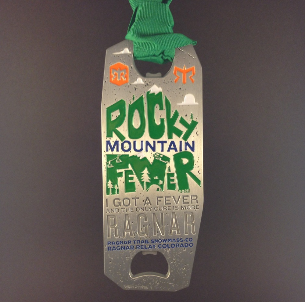 Rocky Mountain Fever Medal