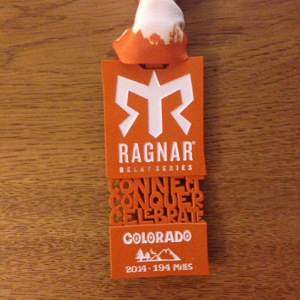 Ragnar Colorado Medal