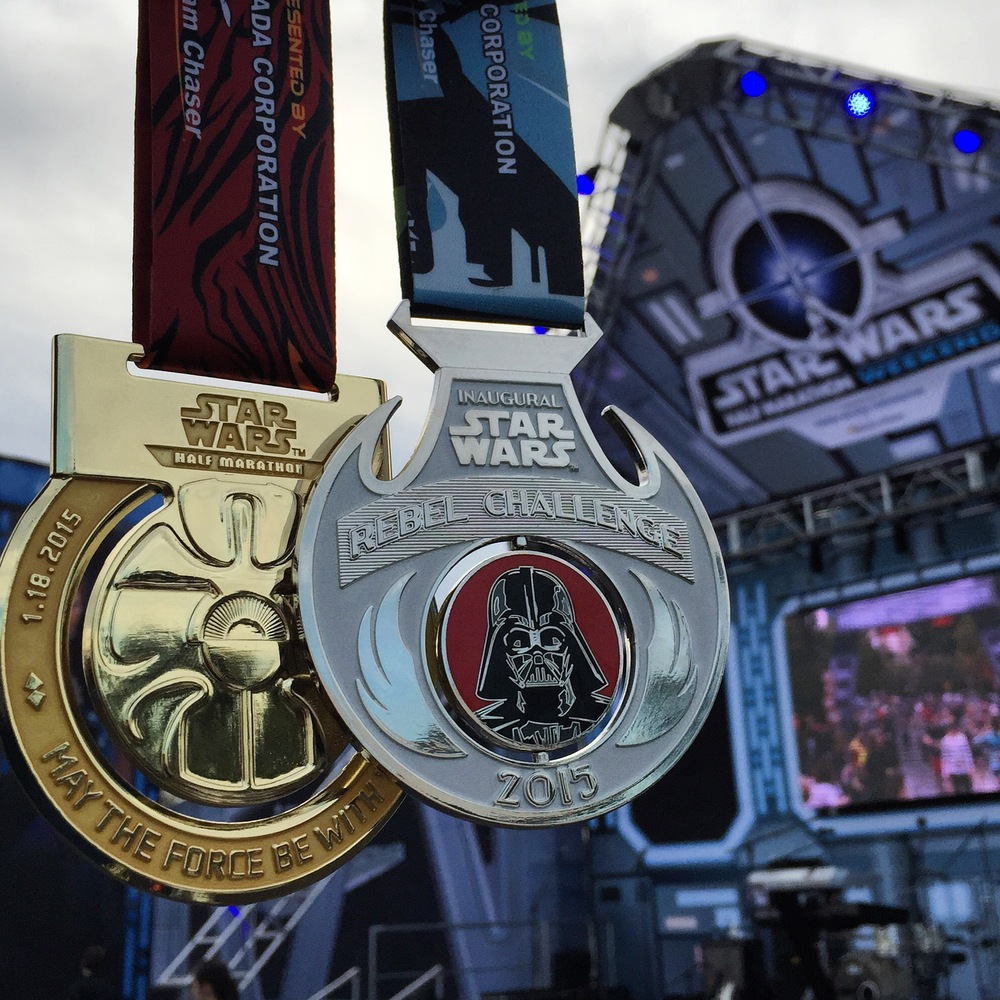 Star Wars Half and Rebel Challenge