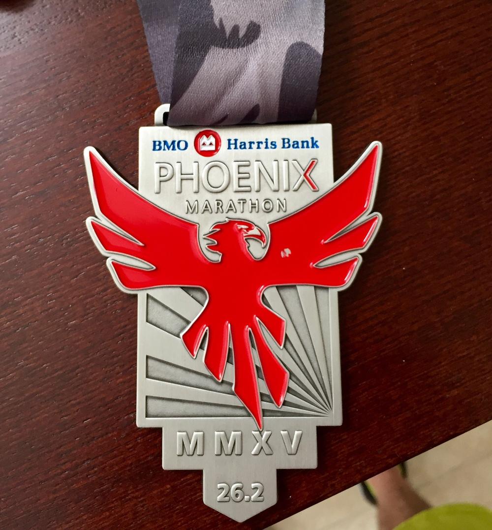 Phoenix Marathon Medal