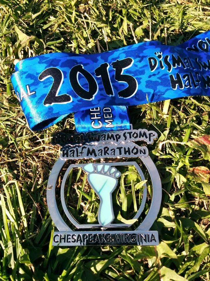 Dismal Swamp Stomp Half Marathon
