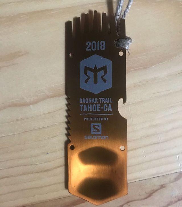 Ragnar Trail Tahoe medal