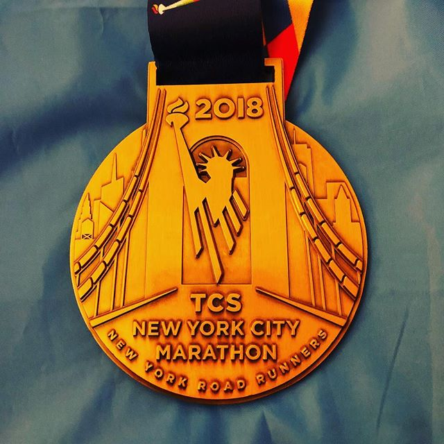 New York City Marathon medal