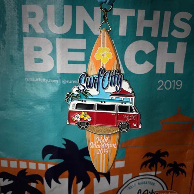 Surf City Half Marathon Medal