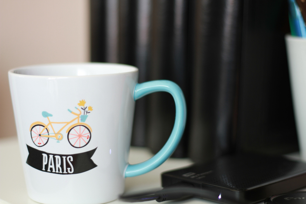 And an ode  to my Paris mug with my beloved Youthberry Wild Orange Blossom Tea to get me through this weekend. No, this was not a gift from the event. I bought this mug at Targer awhile back. It was the closest thing near me to practice some focusing. heehee