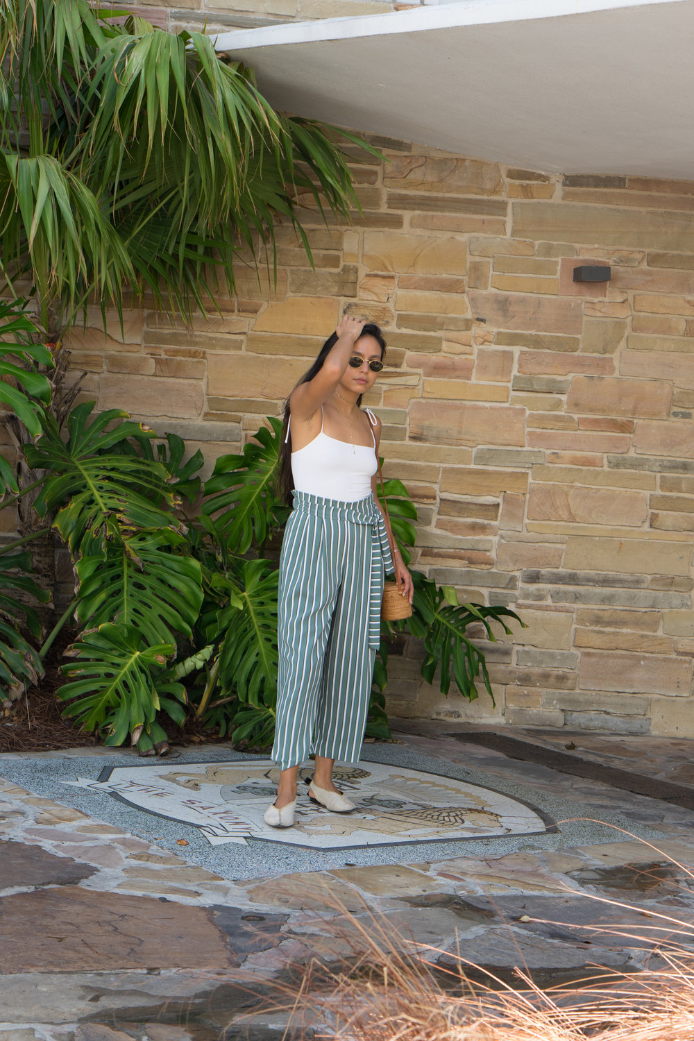 The Caffeinated Kuza-Striped Culottes 003.jpg