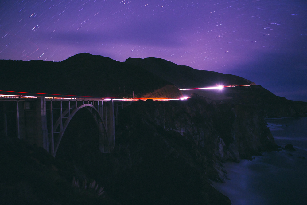 That classic Big Sur bridge at Bixby Canyon.