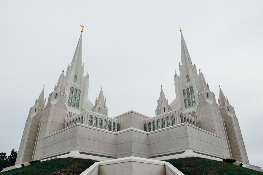 The Mormon church near San Diego has some crazy impressive design.  It's like Disneyland almost, but real.
