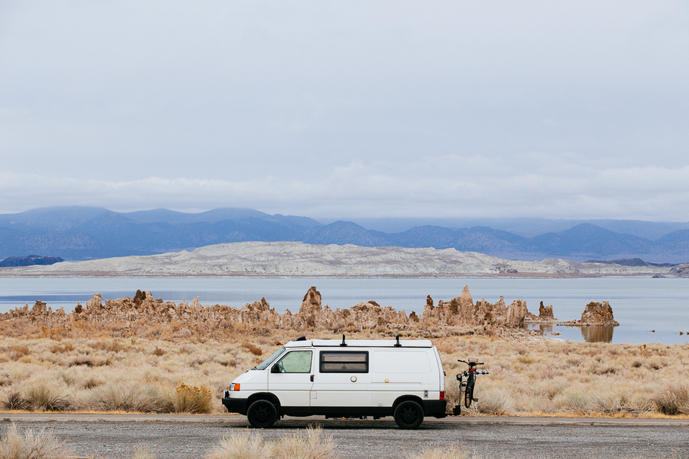 Mono Lake is a bizarre natural feature.  Well not really, LA caused it.