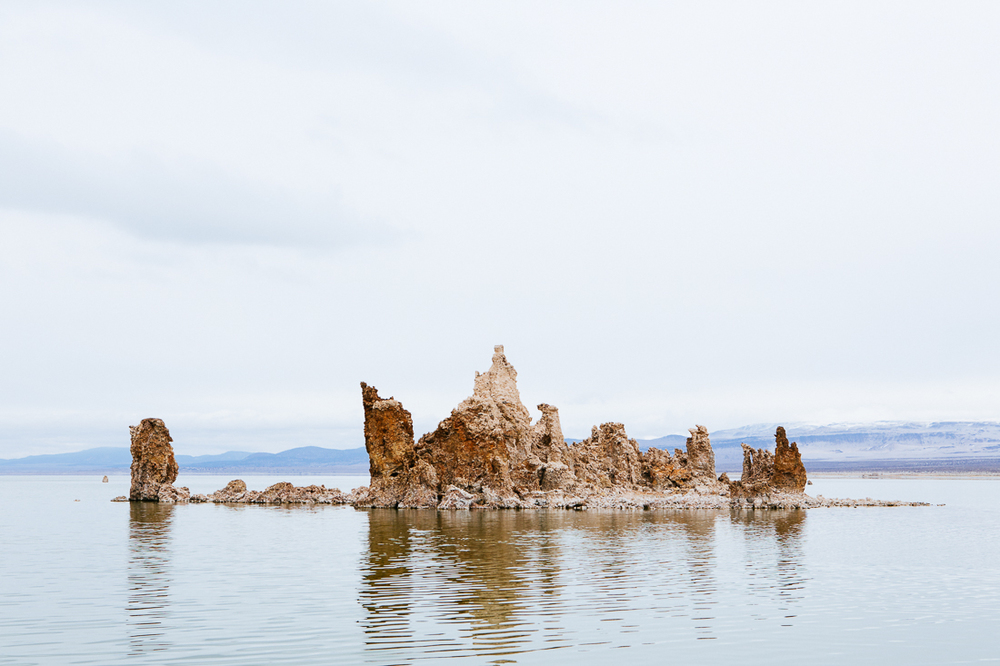 The tufa towers are amazing.  This is only 5 miles off Hwy 395.