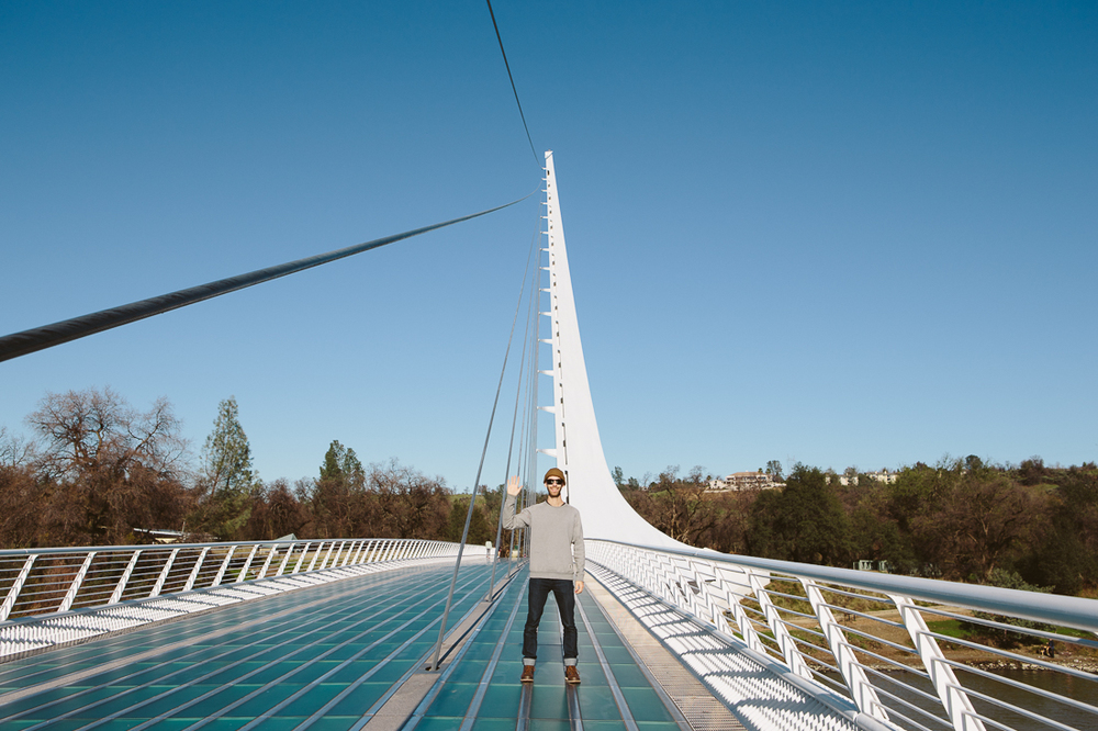 Hello, from the beautiful designed architecture of Santiago Calatrava.