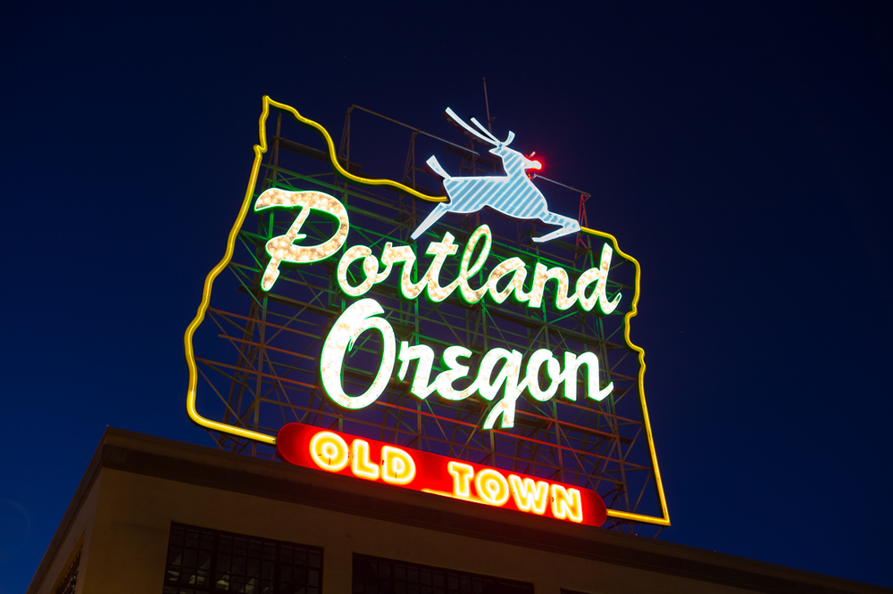"They say ""Portland is where young people go to retire.""  Rudolph took note, sorry Santa."