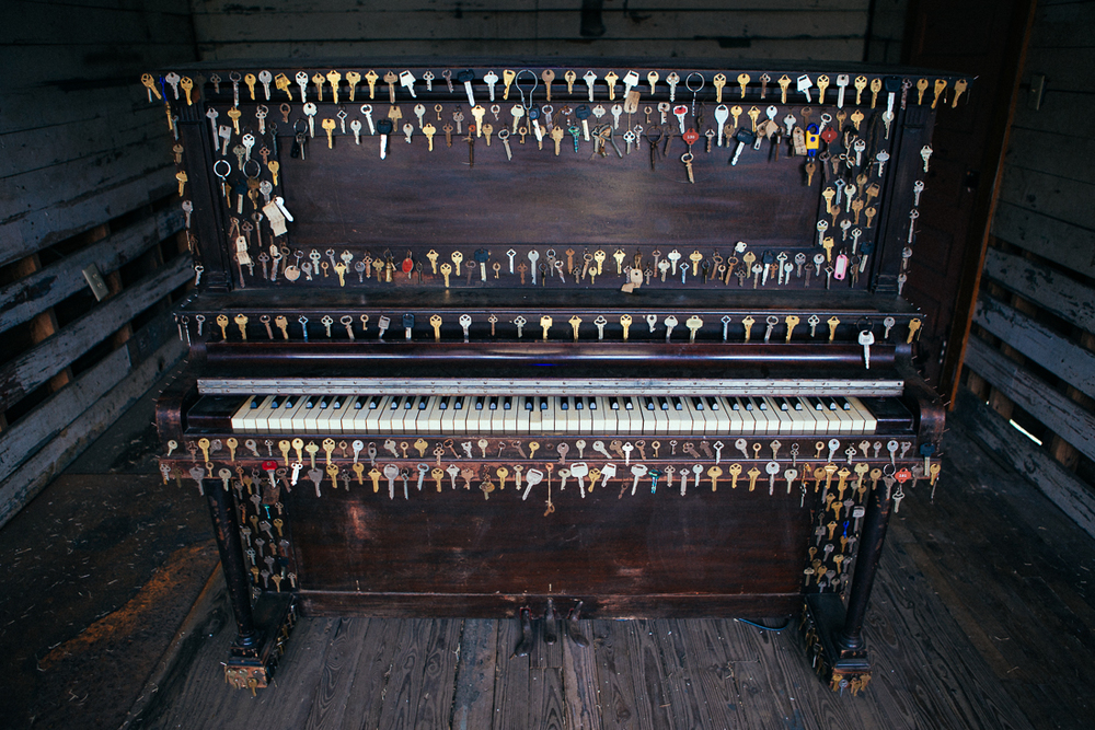 This piano has a couple more keys than normal. I bet it sounds real unique. (queue the laughs)