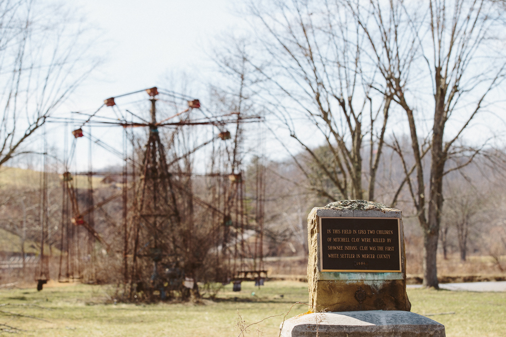 The park was closed in 1966 when a young girl was killed on the swing and a boy drowned in the pond. More spooky, in the late 1700's the land was home to a Native American tribe who were fought away of the area. 2 children were brutally killed in retaliation. spurring another fight killing more of the tribe. Haunted, for sure.