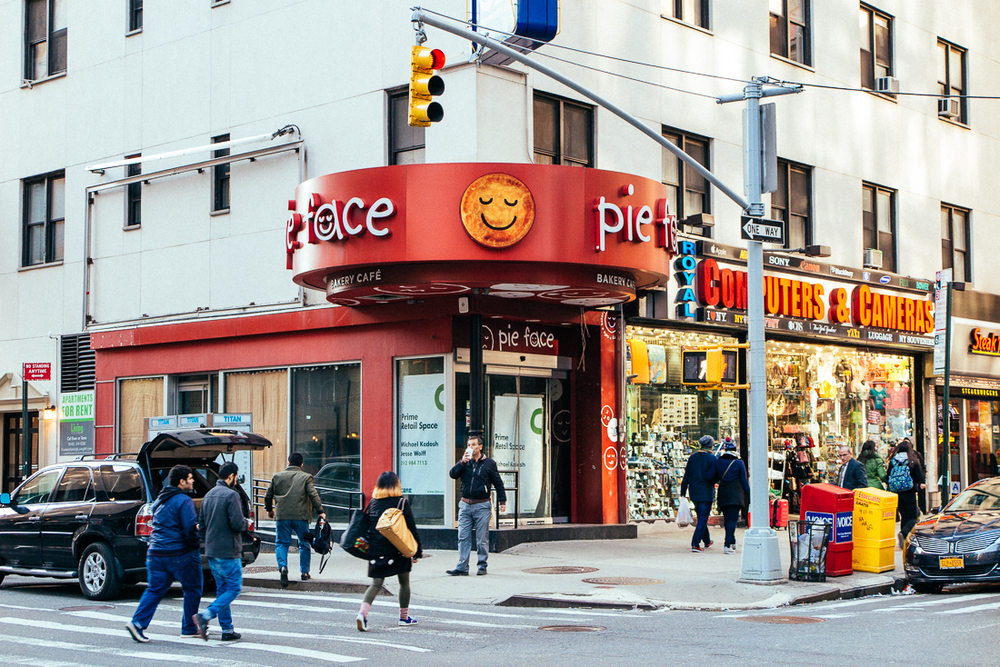 "You may remember in 2010 I cofounded a restaurant in Reno, called  Pie-Face Pizza Co . After I left the biz, the guys told me they had to  change the name  because a big franchised Australian meat-pie brand was opening a spot in NY, who was also called ""pie face"". Well, looks like these jerks couldn't pull it off and the space is now for rent!"