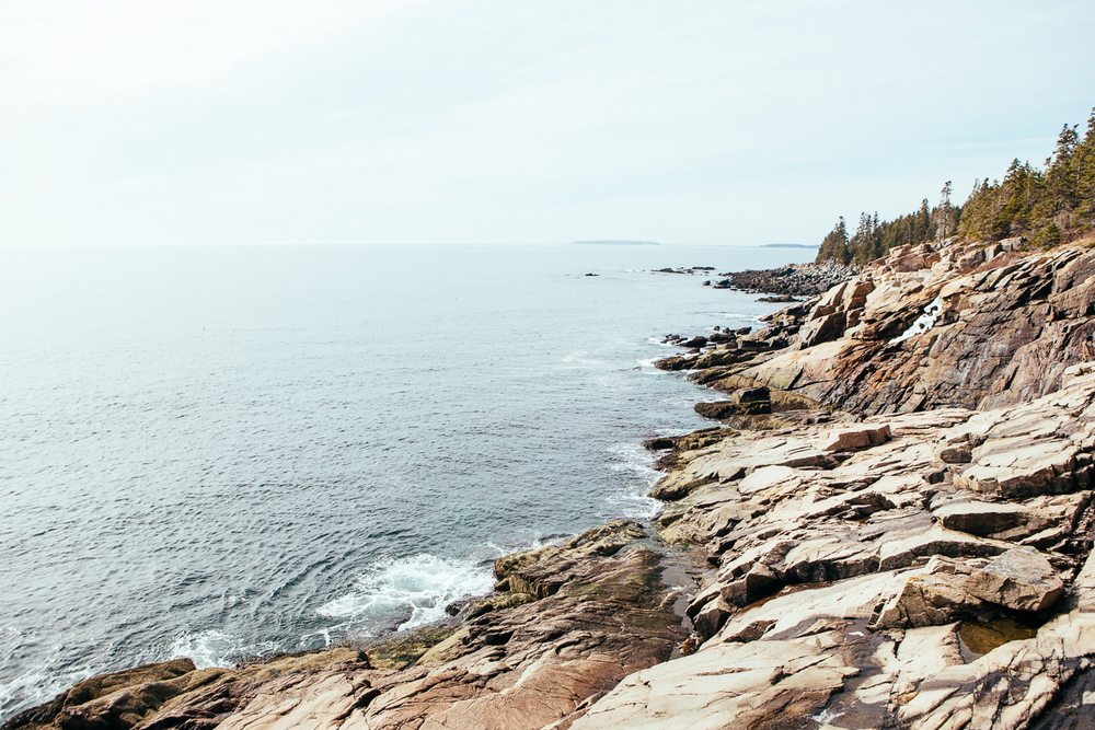 I hadn't planned on going further than Portland, but knew I wouldn't be seeing the ocean for a lone time so I made an impromptu nature trip to Acadia. It's gorgeous here, glad I went for it.