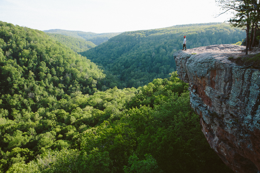 Hiking out to Hawksbill Crag was great, perfect weather and this amazing view.