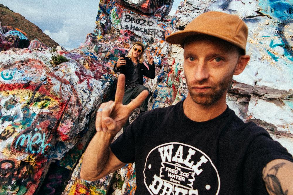 Classic 'selfies' from us BROZO SHOCKERZ.