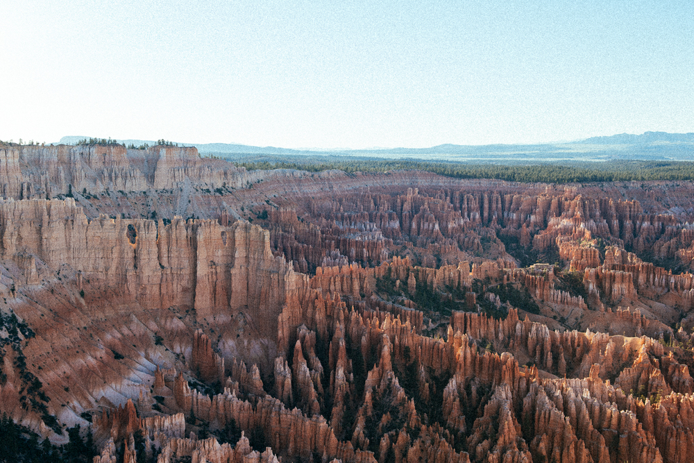Bryce Canyon, with it's glorious amphitheater of hoodoos.