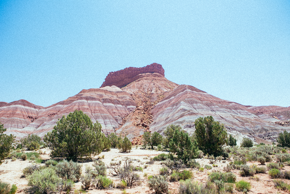 The landscapes are beautiful in the Grand Staircase-Escalante region.