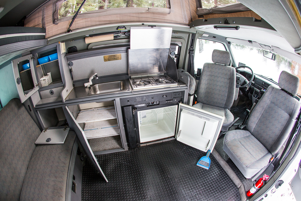 Full Mini RV Here: Back Area Has Closet, Storage Under Back Trunk, Hidden