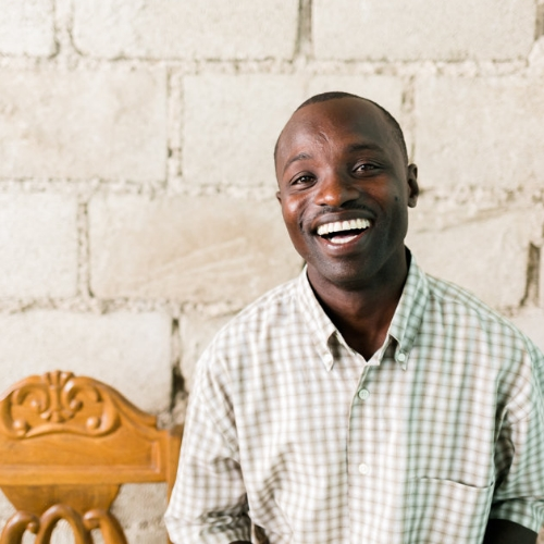 Jonas  Jonas is our trusty translator. None of what we do could be possible without him. Born in Haiti, he spent 5 years living in the Bahamas, where he picked up a killer accent and a laid-back outlook on life.