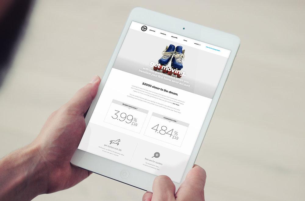Me Bank digital campaign