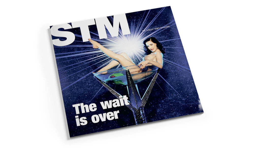 Cover design for marketing brochure for STM Magazine. Designed at    The Sunday Times   , Perth, 2009.