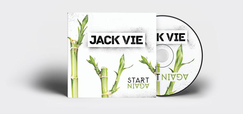 Album cover for Australian hip hop artist Jack Vie. Designed in Perth, 2013.