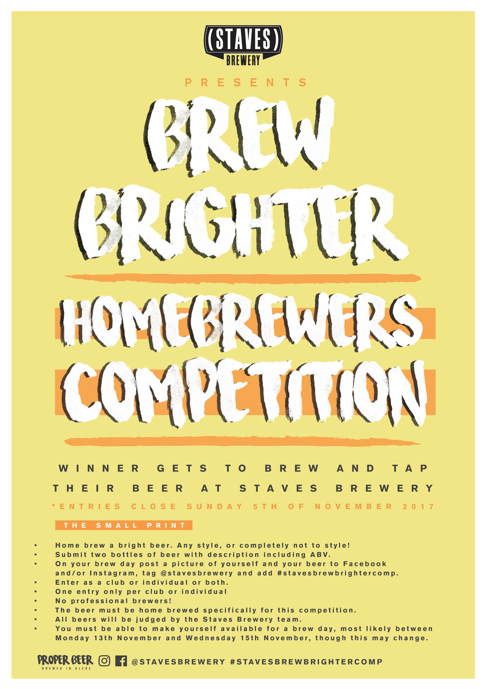 WINNER'S RECIPE TO BE BREWED FULL SCALE - ENTRIES CLOSE 5th NOVEMBER