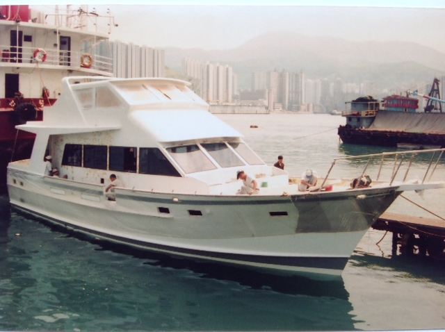 Halvorsen build number 57-26 just after her launch in July 1989.