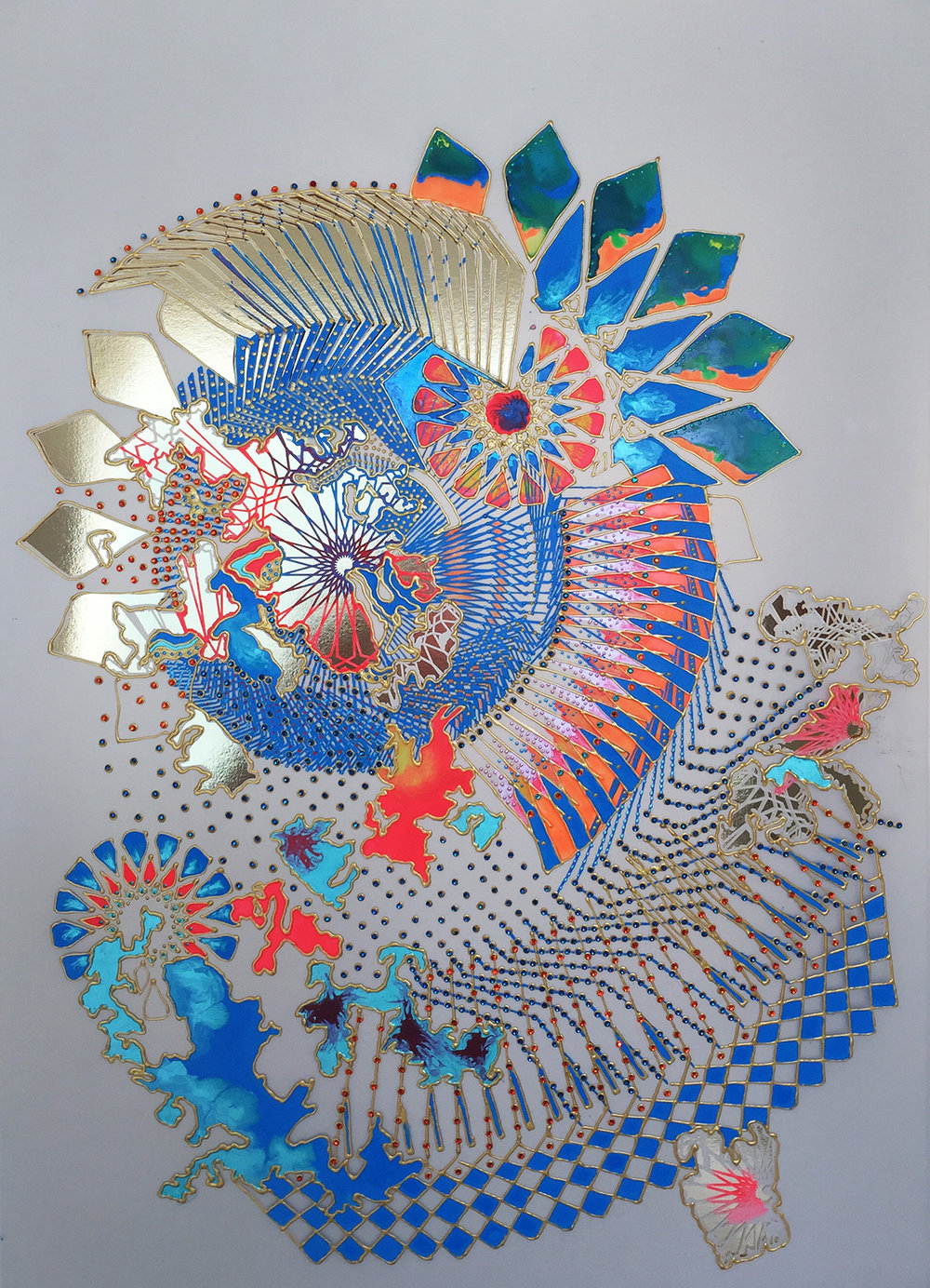 Untitled Study (Khanebani) No. 1