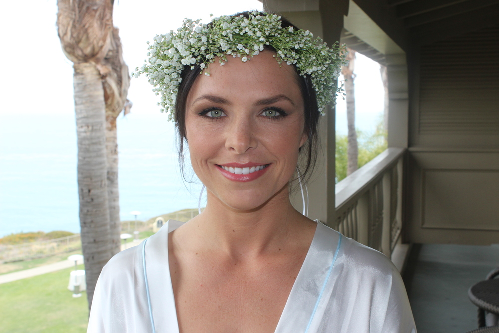 Beautiful Bride Erika Makeup by me
