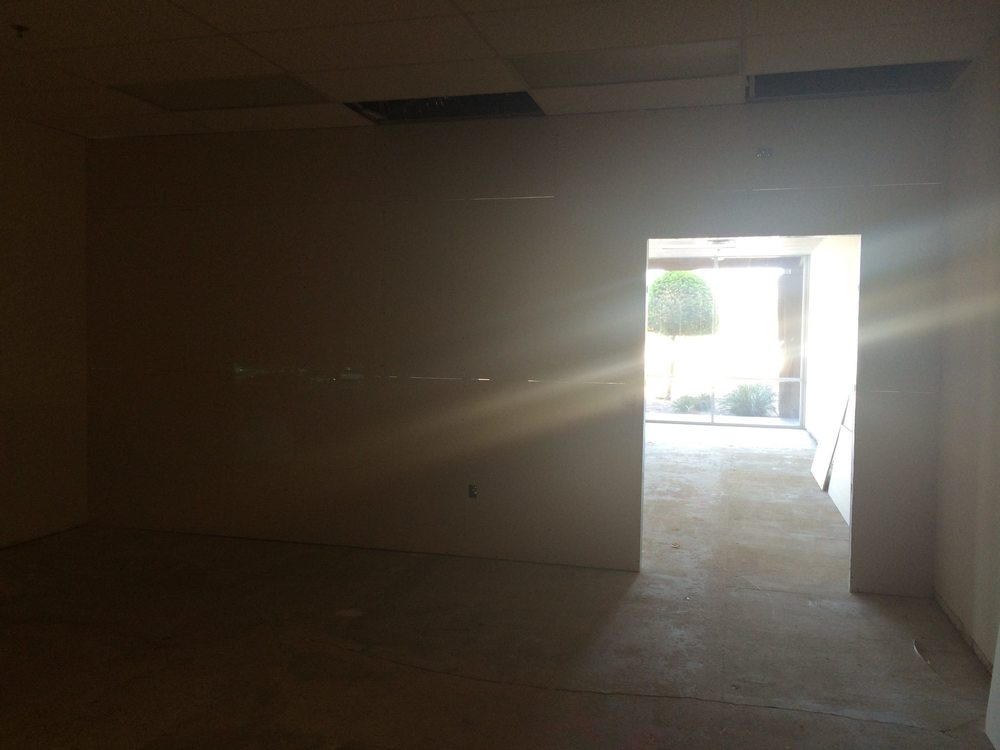 Construction has started in Tempe, Arizona on the new Lorelei Boutique store! Can't wait to open my store October 1, 2014.
