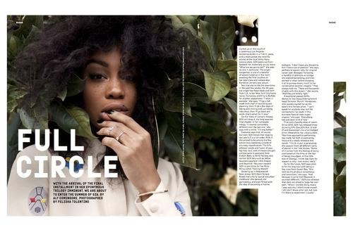 SZA Nylon Magazine