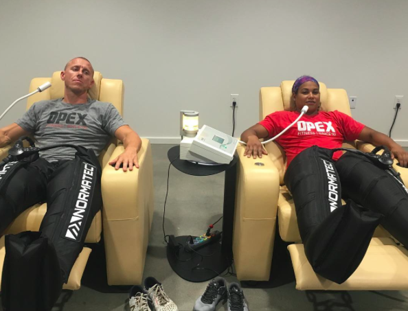 Recovery isn't just about Normatech after an event...