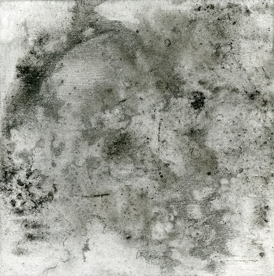 Moon Mixed Media Transfer and Pencil on handmade paper 2018.jpg