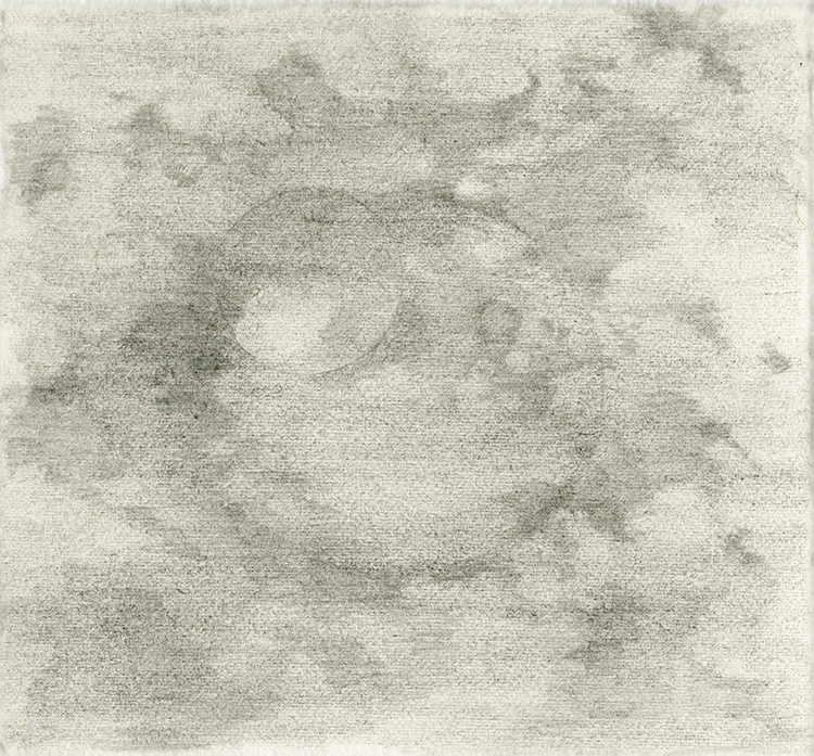Planet with Moon 5x5in Pencil on T90 paper.jpg