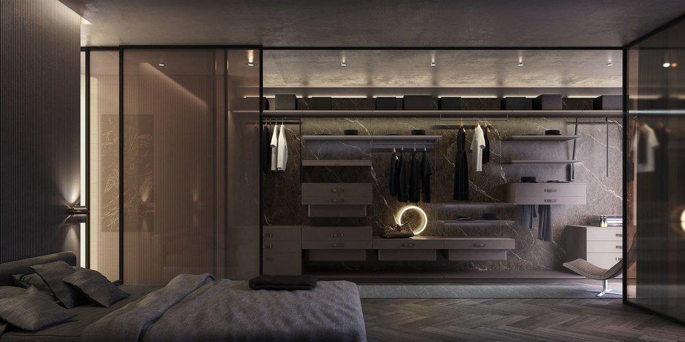 Bedroom interior, Metroscapes