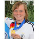 Marina Hegering Fußball-Weltmeisterin u. Nationalspielerin