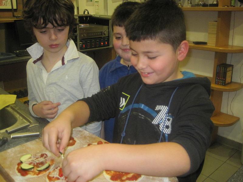 Anna Legaszewska hat den Kindern versprochen auch in ihren Namen nochmal Danke zu sagen und uns dieses Foto vom ersten Pizzaabend zugesendet.
