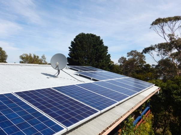 coronet bay solar installation