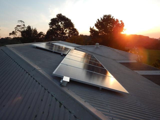 nyora solar installation