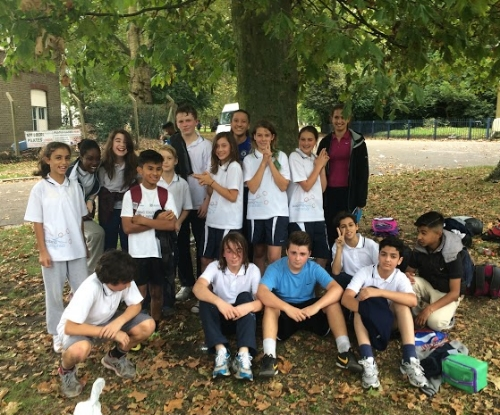 Wapping High School Cross-Country Team