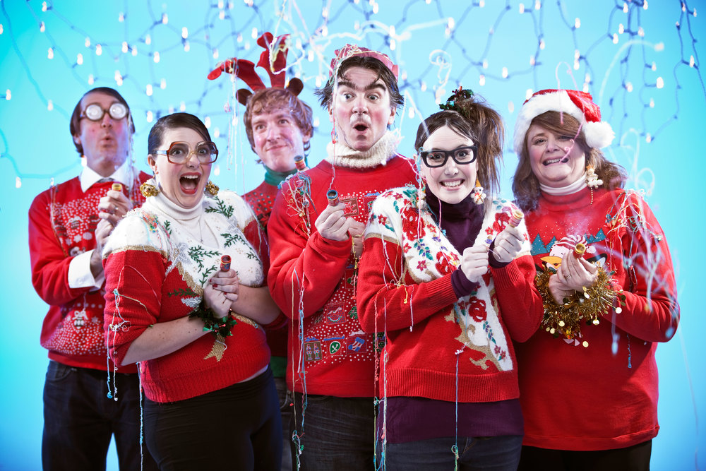 Design Agency Creative Christmas Staff Portrait