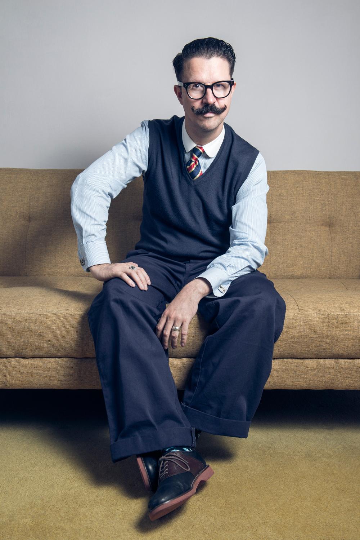 Mr.B, the Gentleman Rhymer Creative Portrait