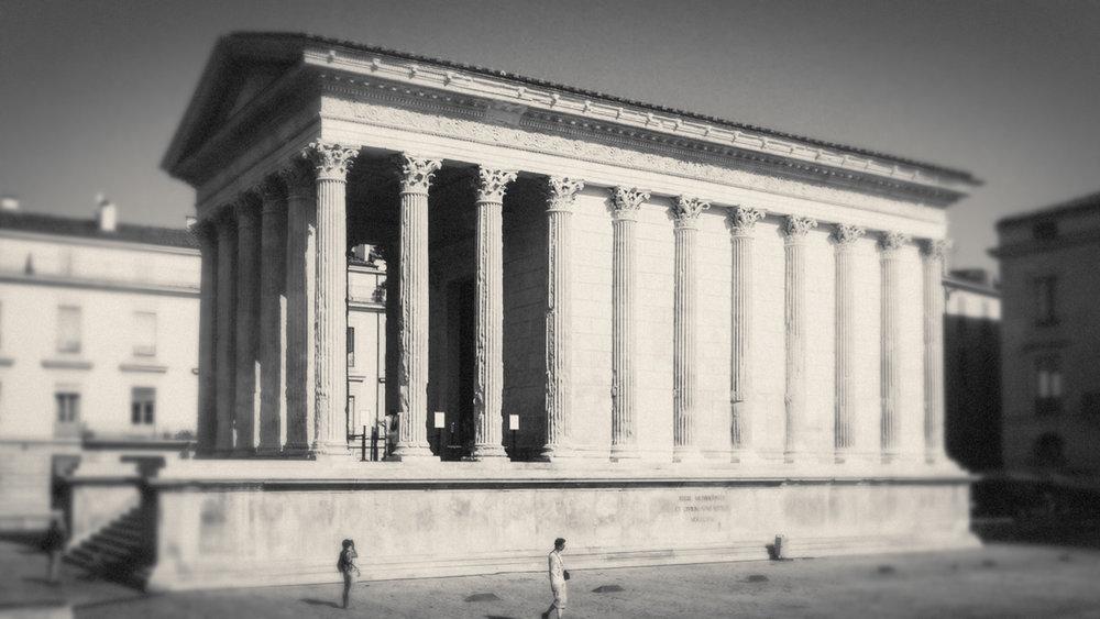 Nîmes   https://en.wikipedia.org/wiki/Nîmes