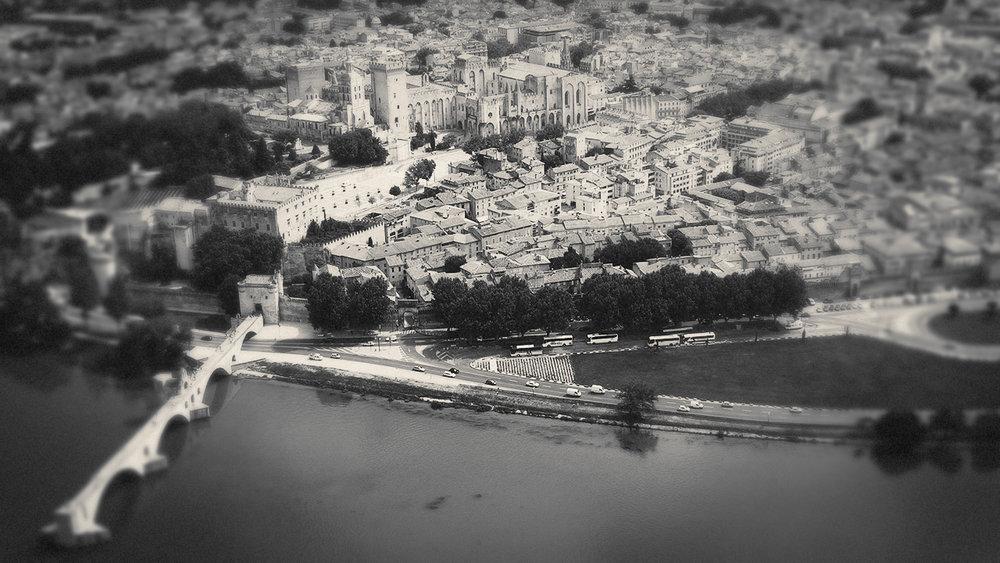Avignon  https://en.wikipedia.org/wiki/Avignon